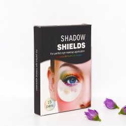 Free Sample Woven Fabric Shadow Shields/Make up Eye Patch