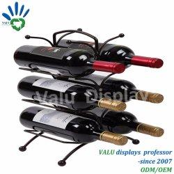 China Metal Wine Bottle Holder Metal Wine Bottle Holder