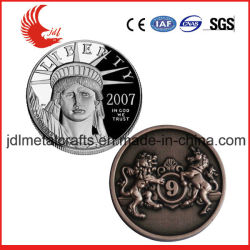 BSCI China Factory Custom 3D Military Army Police Challenge Coin