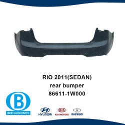KIA Rio 2011 Rear Bumper Manufacturer Car Parts