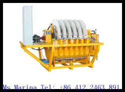 Advanced Mineral Slurry Dewatering High Efficient Vacuum Ceramic Disc Filter P100/20-C