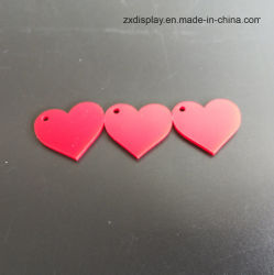 Acrylic Heart Shape Pieces for Wedding Party Decoration
