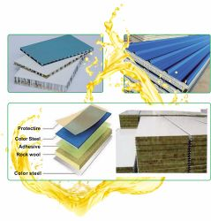 Super Adhesion Polyurethane Foam Adhesive PU Glue for EPS and Gi Sheet Attaching