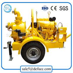 High Flow Rate 8 Inch Diesel Self Priming Slurry Pump