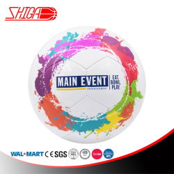 Main Event New Design Oil Painting Size 5 Soccer Ball