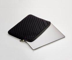 Diamond Foam Splash & Shock Resistant Neoprene Travel Bag for 11.6 - 12.5 Inch Laptops, Black