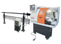 Auto Bar Feeder CNC Turning Lathe Machine