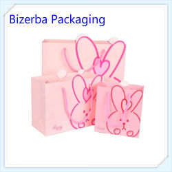 Promotional Pink Designs Printing Paper Gift Bag