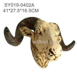 Wholesale for Sale High Quality RAM Skull Wall Hanging Decoration