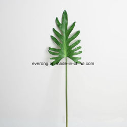 China artificial flower leaf artificial flower leaf manufacturers silk coated monstera leaves artificial monstera leaves wholesale fake plant wedding flower company fake leaves artificial mightylinksfo