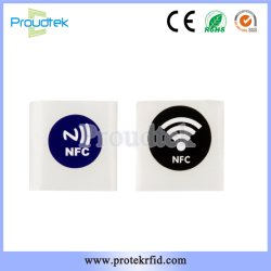 Ntag215 NFC Sticker Tags with Self-Adhesive Layer for Mobile Phone
