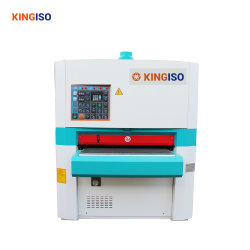 High Efficiency Woodworking Sanding Machine with Double Heads