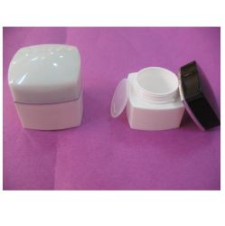 300ml Plastic Wide Mouth Jar with Closure