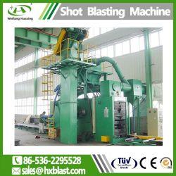 ISO Approval Qh69 H Beam Roller Pass- Through Type Shot Blasting Machine/Shot Peening Equipment