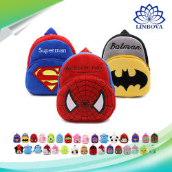 Spider -Man Superhero Cartoon Plush Backpack for Kids Plush Toy Promotional  Gift 9dc4a4cd5235f