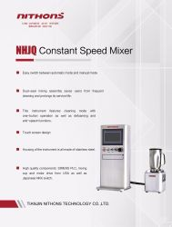 Constant Speed Mixer for Oilfield Cementing Slurry Sample