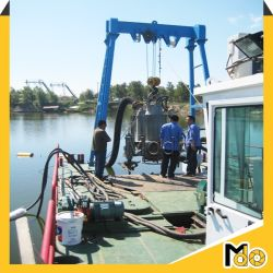 200kw Solid Sand Dredging Submersible Slurry Mud Pump