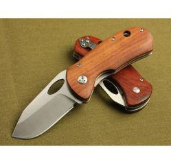 New Design OEM Wood Handle Pocket Knife