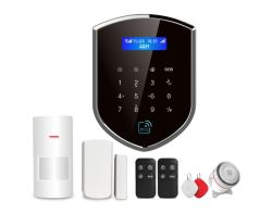 wolf guard diy wireless 3g gsm wifi smart home automation rfid alarm security system with spanish - Diy Home Alarm Systems