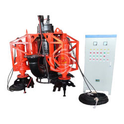 River Sand Dredging Submersible Type Toyo Slurry Pump with Agitator System
