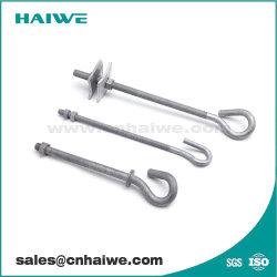 Pig Tail Hook for Pole Line Hardware