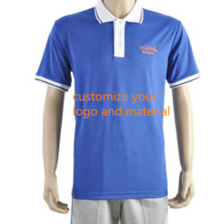 b3657c5d 100% Polyester Plain Embroidered Sports Polo Shirt Customise Your Logo and  Material Maden in China