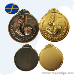Metal Medals Custom Souvenir Decoration Metch Gift Cheap Challenge Sports Medal Ftmd1312j