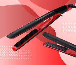 Electric Hair Straightener with Corn Plate