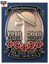 World War Souvenir Custom Made Red Poppy Collection Enamel Pin