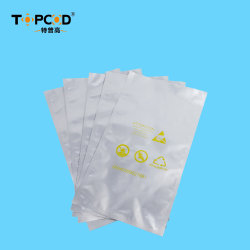 ESD E6-E8 Aluminum Foil Packing Bag for Electronic Components Used