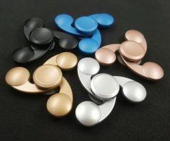 Hot Sell Hand Toy Zinc Alloy Fidget Spinner at Stock