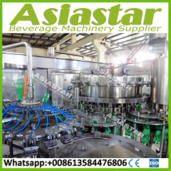 Carbonated Soft Drinks Water Filling Machine and Labeling Packaging Equipment