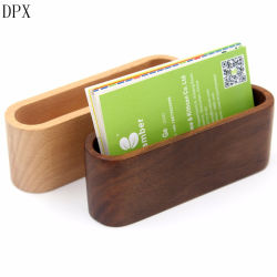 e89f7714d7fe87 Stationery Office Stationery Office Supply Pencil Case Multifunction Wood Business  Card Holder with Pen Stand