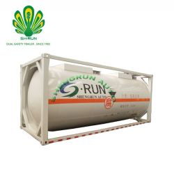 LNG Railway Transportation Tanker Container Trailer From China