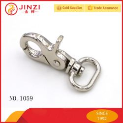 Factory Wholesale Metal Gold Trigger Snap Hook for Straps with High Quality