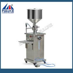 Fgj Semi-Auto Pneumatic Small Scale Cream/Llotion/Liquid Filling Machine