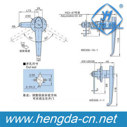 Flush Swing Handle Industrial Cabinet Electric Panel Lock (YH9688)