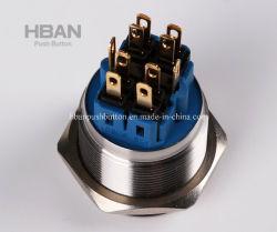 Hbgq25 25mm Anti-Vandal Waterproof Metal Switch, Pushbutton Switch