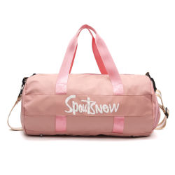 929401444f Custom Travel Sports Duffle Bag Waterproof Gym Bag with Shoe Compartment