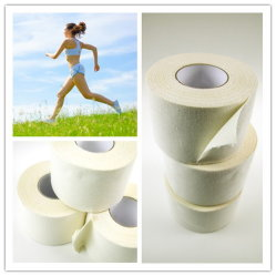 Non Elastic 100% Cotton Gym Sports Strapping Tape