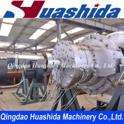 HDPE Water Gas Supplying Solid Pipe Extrusion Line