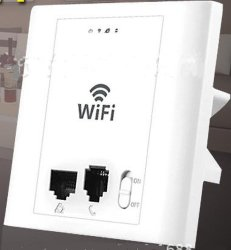 in Wall Ap Wall Router Wireless Modem