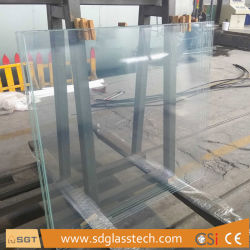 19mm Ultra Clear/Super White/Low Iron Laminated Glass for Building