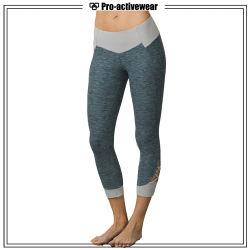 OEM Custom Woman Wholesale Printing Polyester Spandex Yoga Pants