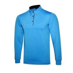 Wholesale Golf Apparel Men's Clothing Sports Polo Shirt Long Sleeve