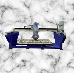 Automatic Granite Bridge Saw Stone Cutting Machine for Kitchen Countertop Remolding