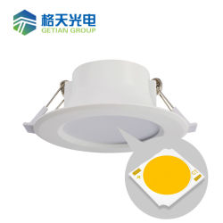 Alert New Arrvial Cob 10w White Shell Led Dimmable Ceiling Fixture Light Ac90-260v Warm/cool White Drivers 60 Angle 3 Years Warranty Led Downlights Led Lighting