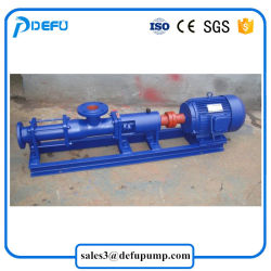 Ce Approved G Single Screw Pumps for Slurry Transfer