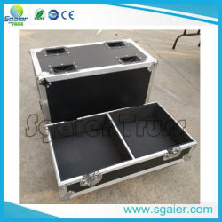 Custom Flying Case with Casters and Caster Cups/Dishes