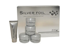 Silver Foil Water Oil Balancing Facial Care Kit Cosmetic
